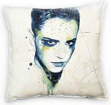 Paul Sinus Art Emma Watson Deko Kissen mit