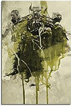 Paul Sinus Art The_Elder_Scrolls_V_Online_90x60-SA Wandbild Leinwand, 90 x 50 x 3 cm, mehrfarbig