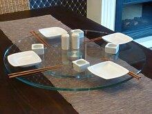 Paul Snajdar Glas Drehplatte Drehteller Asia Sushi