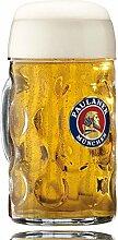 Paulaner Glas Masskrug - 1,0l - Original wie im