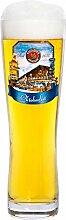 Paulaner Weizenbierglas - 0,5 Liter Bierglas mit