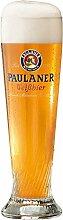 Paulaner Weizenglas 0,5 Liter, Weißbierglas mit