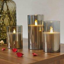 Pauleen LED-Kerze Classy Smokey Candle, Wachskerze