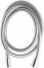 PaulGurkes Brauseschlauch Duschschlauch Schlauch für Brause Metall Drehkonus 1/2' Anti Twist Verdrehschutz Made in Germany 60cm 90cm 1,2 Meter, 1,6m, 2 Meter, Länge:160cm