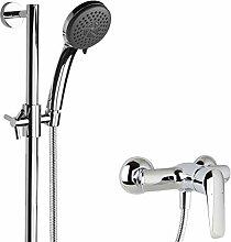 PaulGurkes Duschsystem Aufputz Armatur Duschstange