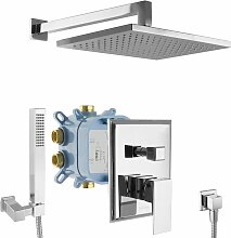 Paulgurkes - Regendusche Duschsystem Unterputz