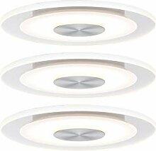 Paulmann 92907 Einbauleuchte LED Whirl rund