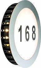 Paulmann 937.69 Hausnummernleuchte, Glas,