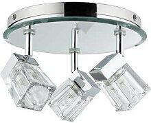 Paulmann Deckenrondell, Metall, G9, Transparen