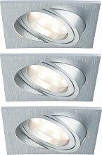 Paulmann,LED Einbaustrahler 3er-Set dimmbar