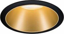 Paulmann LED Einbaustrahler Cole 6,5W Schwarz/Gold