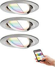 Paulmann,LED Einbaustrahler Nova Plus ZigBee RGBW