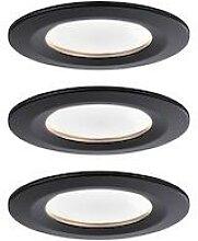 Paulmann Nova LED Einbauleuchte Coin 3er Set rund