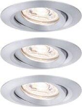Paulmann Nova mini Plus LED easydim 3er alu