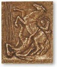 Paulus - Paul * kleine Geschenkidee Weihnachten * Namensplakette / Relief / Plakette * Grösse:13 x 10 cm