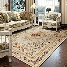 Pauschale für wohn- und teetisch/chenille schlafzimmer bett decke/europäischer pastoral rechteckiger teppich-B 140x200cm(55x79inch)