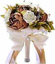 Pavian Brautstrauß Brautstrauß künstliche Blume