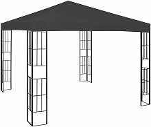 Pavillon 3×3 m Anthrazit - Youthup