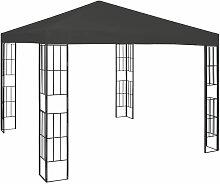 Pavillon 3×3 m Anthrazit