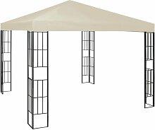 Pavillon 3×3 m Creme - Youthup