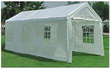 Pavillon 3 x 6 m, Farbe: weiß mit