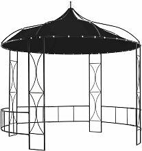 Pavillon 300 x 290 cm Anthrazit Rund VD46279 -