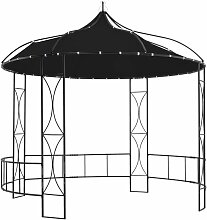 Pavillon 300 X 290 Cm Anthrazit Rund