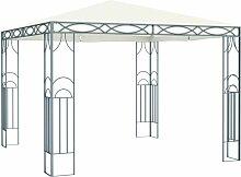 Pavillon 300 x 300 cm Cremeweiß VD46265 - Hommoo