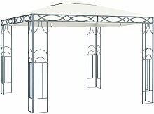 Pavillon 300 x 300 cm Cremeweiß