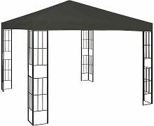 Pavillon 3x3 m Anthrazit VD46236 - Hommoo