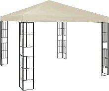Pavillon 3x3 m Creme VD46234 - Hommoo