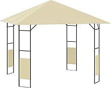 Pavillon 3x3 m Gartenpavillon Gartenzelt Pergola
