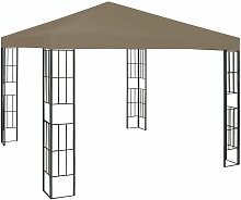 Pavillon 3x3 m Taupe