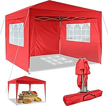 Pavillon 3x3m/3x6m Wasserdicht Zelt Partyzelt