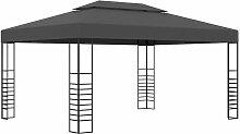 Pavillon 3x4 m Anthrazit 46226 - Topdeal
