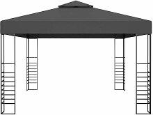 Pavillon 3x4 m Anthrazit VD46226 - Hommoo