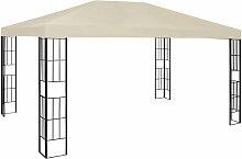 Pavillon 3x4 m Creme 48921 - Topdeal