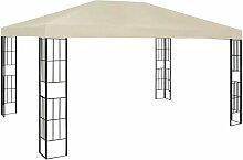 Pavillon 3x4 m Creme VD48921 - Hommoo