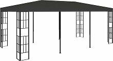 Pavillon 3x6 m Anthrazit 46237 - Topdeal