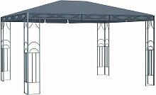 Pavillon 400 x 300 cm Anthrazit VD46268 - Hommoo