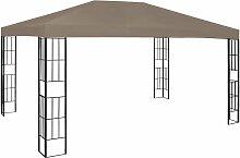 Pavillon 4x3 m Taupe