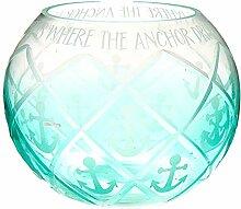 Pavillon – Aqua Ombre Diamantschliff Anker