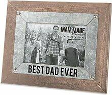 Pavillon – Best Dad Ever – Holz und Metall