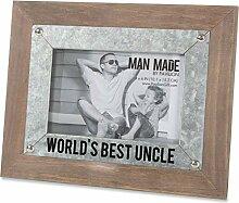 Pavillon Bilderrahmen World's Best Uncle, Holz