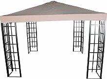 Pavillon Dach für Pavillon-Gestell Royal wasserabweisend 3x3m PA coated ecru