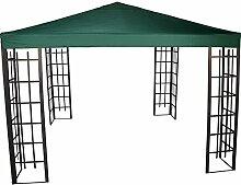 Pavillon Dach für Pavillon-Gestell Royal wasserabweisend 3x3m PA coated grün