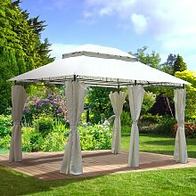 Pavillon Easiness 3x4 m beige