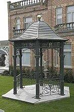 Pavillon, Eisenpavillon, Gartenhaus, Laube