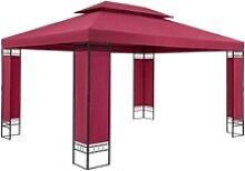 Pavillon Elda Bordeauxviolett XXL 3x4m