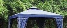 Pavillon Ersatzdach BLAU 3x3 Meter - 300 x 300 cm
